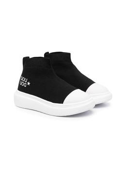 Douuod Kids кроссовки-носки с логотипом SOCKNW30