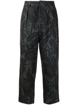 Pierre-louis Mascia брюки с цветочным принтом MINAPT10955119453