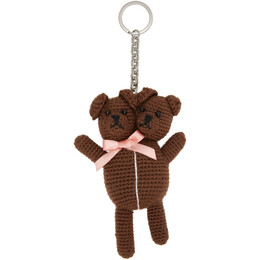Marc Jacobs Brown Heaven By Marc Jacobs Vest Teddy Keychain P904M06SP21