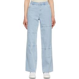 Stussy Blue Webster Jeans 216113