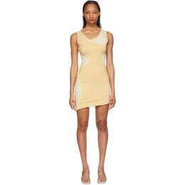 Eckhaus Latta Pink Surface Dress 1005-EL-SS21-PE