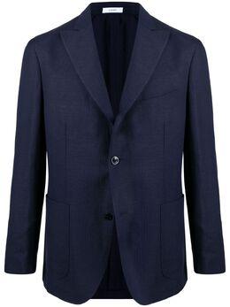 Boglioli однобортный пиджак с заостренными лацканами N6302EWBTC024