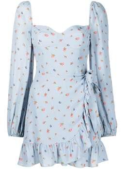 Reformation платье Cammi с цветочным принтом 1308064BEU