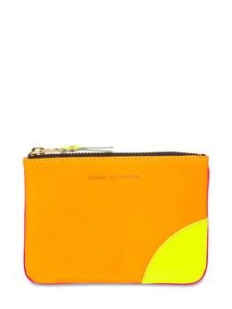 Кошелек Из Кожи Super Neon Comme Des Garcons Wallet 73IY0M024-TE8vUA2