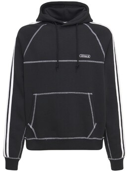 Худи Из Смешанного Хлопка Adidas Originals 73IGZU064-QkxBQ0s1