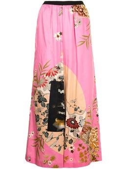Antonio Marras широкие брюки с цветочным принтом LB3009D85S0