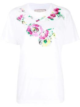 Antonio Marras футболка с цветочным принтом LB0017D45S1