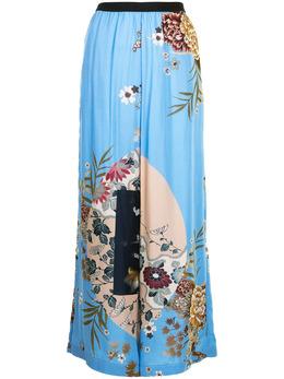 Antonio Marras широкие брюки с цветочным принтом LB3010D86S0