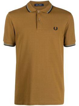 Fred Perry рубашка поло с контрастной окантовкой FPM360037
