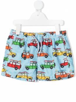 Mc2 Saint Barth Kids плавки-шорты с графичным принтом JEA0001