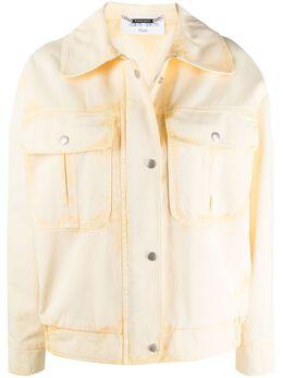 Alberta Ferretti джинсовая куртка на пуговицах A05070181