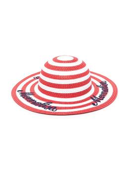 Monnalisa шляпа в полоску 9370317088