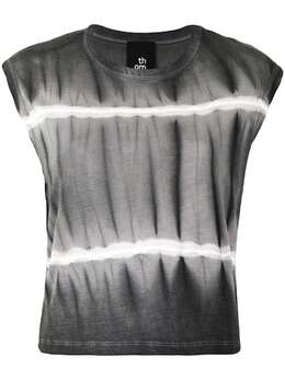 Thom Krom футболка без рукавов с принтом тай-дай WTS392B