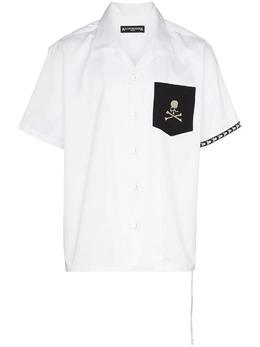 Mastermind Japan рубашка с короткими рукавами и логотипом MW21S06SH003005