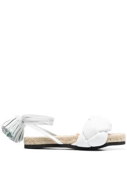 MSGM сандалии с плетеными ремешками 3042MDS193114