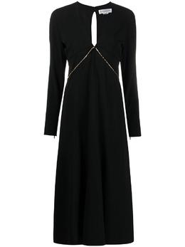 Victoria Beckham платье мини с V-образным вырезом 1121WDR002284A