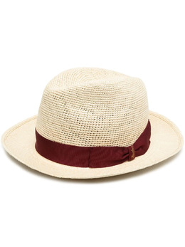 Borsalino шляпа с бантом 141191