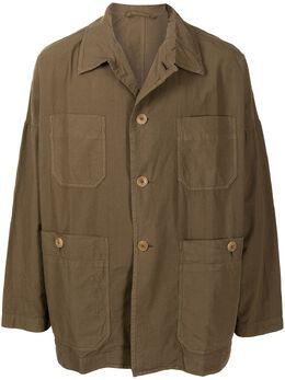 Casey Casey легкая куртка с накладными карманами 16HV244