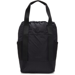 Norse Projects Black Hybrid Backpack N95-0777