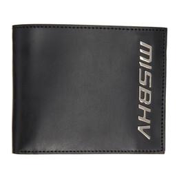 Misbhv Black Logo Bifold Wallet 021A201