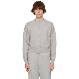 Extreme Cashmere Grey N°170 Chou Cardigan 170-003-01-FE-02