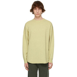 Extreme Cashmere Green N°53 Crew Hop Sweater 053-036-01-FE-01