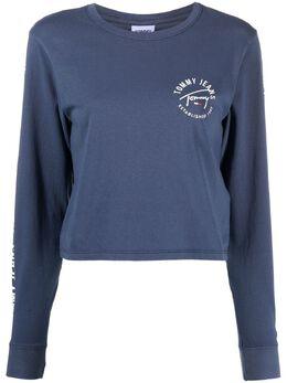 Tommy Jeans футболка с логотипом DW0DW09820