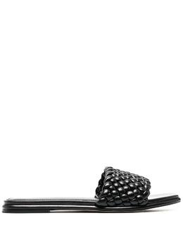 MICHAEL Michael Kors плетеные сандалии с открытым носком 40S1AMFA2L