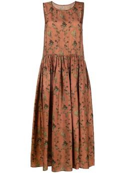 Uma Wang платье миди с принтом UW5014V38S1