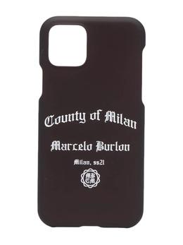 Marcelo Burlon County Of Milan чехол для iPhone 11 Pro с логотипом CMPA015R21PLA0031001