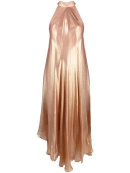 Mes Demoiselles платье макси с эффектом металлик 21SMMDKW00015