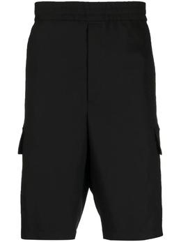 Neil Barrett шорты карго с эластичным поясом PBPA831Q004