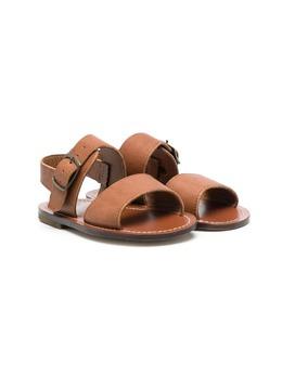 Pepe сандалии на плоской подошве с ремешками 1242
