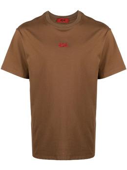 424 футболка с вышитым логотипом 30424M111R216018