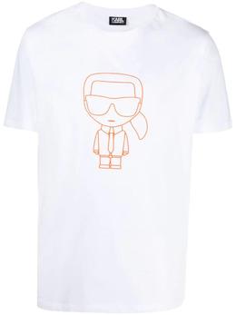 Karl Lagerfeld футболка с принтом Ikonik 7550510511224