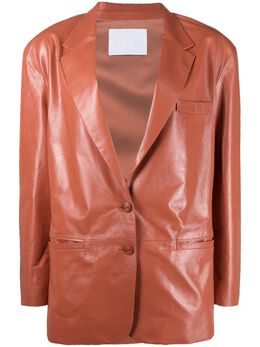 Drome куртка с заостренными лацканами DPD3021PD1849P