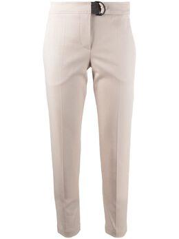 Brunello Cucinelli брюки кроя слим с поясом MA126P7227C8502