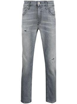 Department 5 узкие джинсы с эффектом потертости UP5112DS0006
