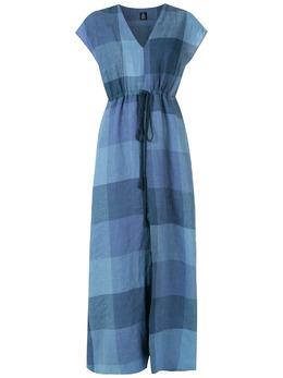 Osklen платье в клетку виши 61269