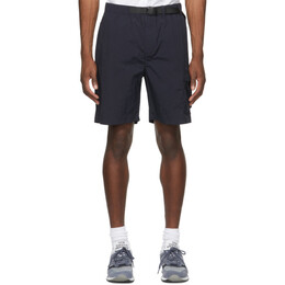 Norse Projects Navy Packable Luther Shorts N35-0571