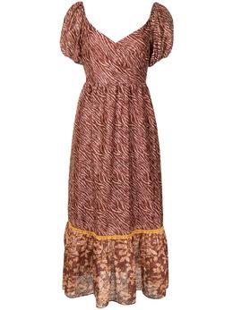 Sachin & Babi платье Jenna с зебровым принтом S21D10