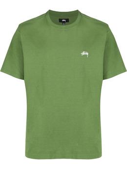 Stussy футболка с вышитым логотипом 11402410401