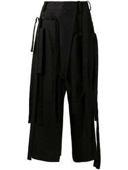 Yohji Yamamoto брюки с запахом NDP53002