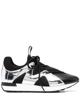 Pollini кроссовки со вставками металлик SA15063G0CXF1