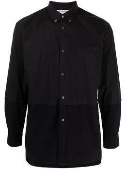 Comme Des Garcons Pre-Owned рубашка со вставками W24045