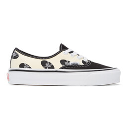 Wacko Maria Off-White and Black Vans Edition OG Authentic LX Sneakers VN0A4BV9592