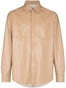 Nanushka рубашка Declan на пуговицах NM21RSSH00576