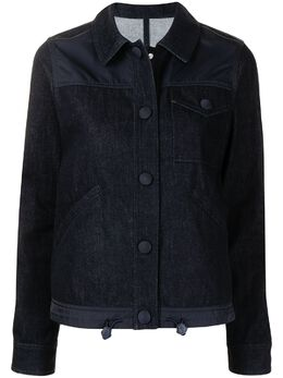 Moncler джинсовая куртка со вставками G10931A7630054AGR