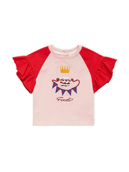 Fendi Kids Bag Bug cheer top BFI0547AJ