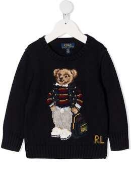Ralph Lauren Kids джемпер с принтом 321799423